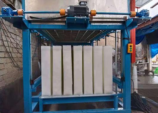 福建5吨直冷式块冰机案例