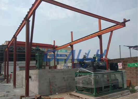 广州40吨盐水池制冰厂案例
