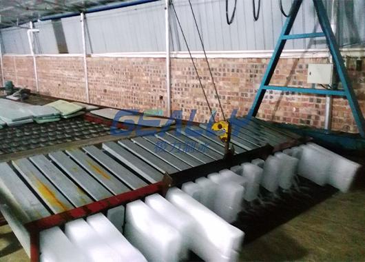 广西20吨盐水池制冰厂案例