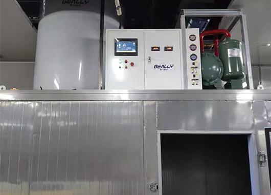 某水产公司10吨片冰机案例