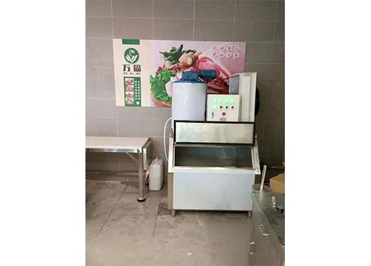 江西某超市1吨片冰机案例