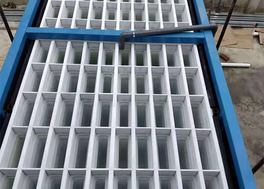 湖北10吨直冷块冰机案例